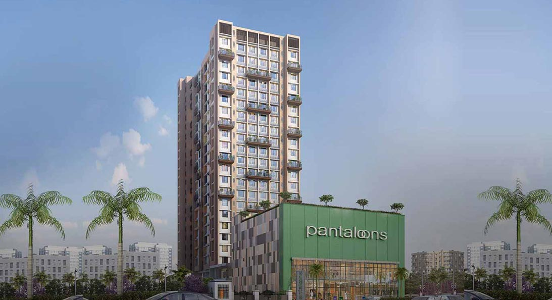 3 BHK and 4 BHK flat - Ideal unique Residency