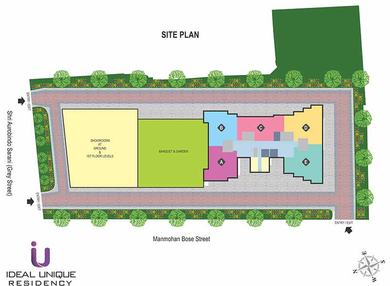 Ideal Unique Residency Site Plan